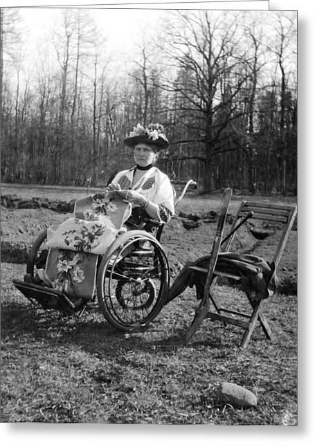Romanov Greeting Cards - Former Empress Alexandra 1917 Greeting Card by Mountain Dreams
