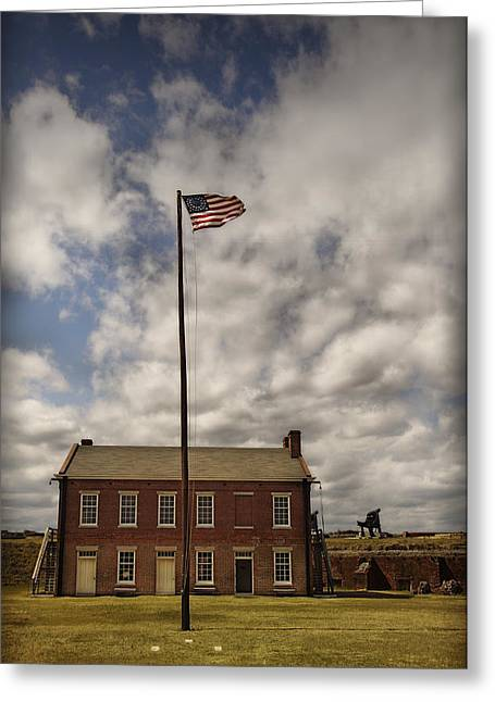 Mario Celzner Greeting Cards - Fort Clinch Greeting Card by Mario Celzner