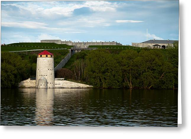 Kingston Greeting Cards - Fort Henry Greeting Card by Michel Soucy