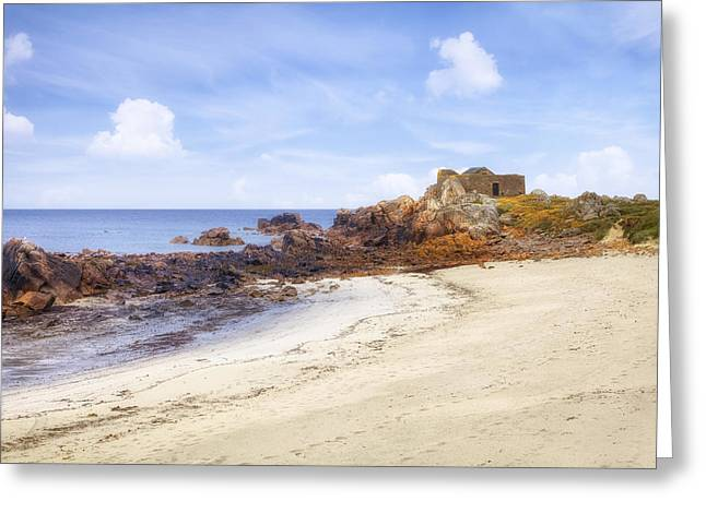 Fort Pembroke - Guernsey Greeting Card by Joana Kruse