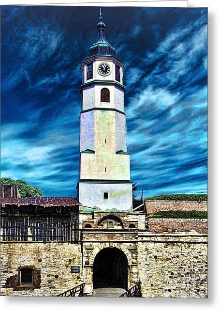 Kalemegdan Greeting Cards - Fortress Kalemegdan Belgrade Greeting Card by Milan Karadzic