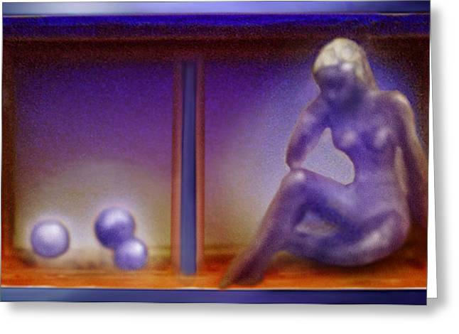 Silver Sculptures Greeting Cards - Fragile - Handle With Great Care  Greeting Card by Hartmut Jager