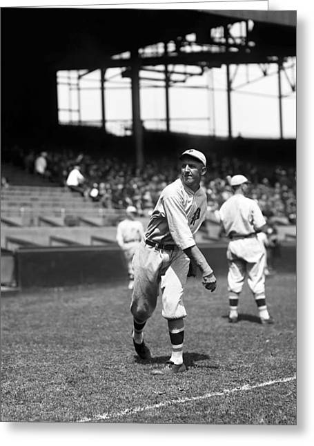 Philadelphia Phillies Stadium Greeting Cards - Frank W. Dutch Ulrich Greeting Card by Retro Images Archive