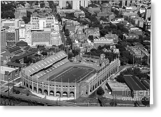 Downtown Franklin Greeting Cards - Franklin Field University City Pennsylvania Greeting Card by Bill Cobb