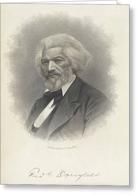 Frederick Douglass Greeting Card by British Library