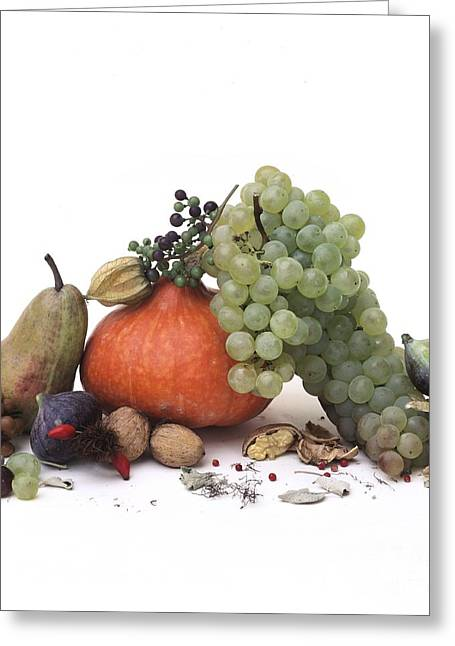 White Grape Greeting Cards - Fruit variety Greeting Card by Bernard Jaubert