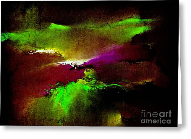 Backgrounds Greeting Cards - Fury Greeting Card by Marvin Blaine