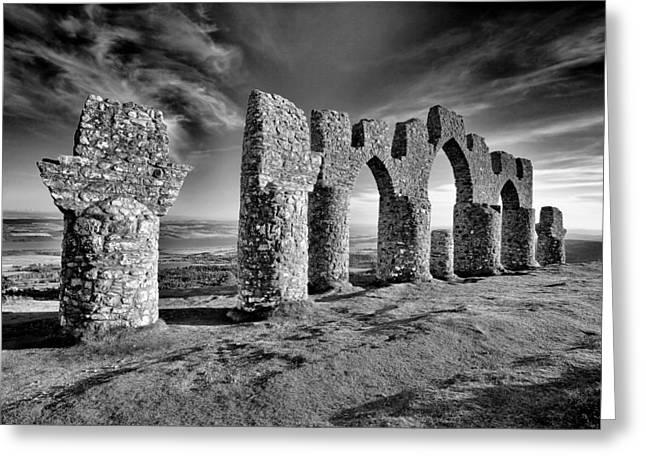 Scotland Landscape Greeting Cards - Fyrish monument Greeting Card by Grant Glendinning