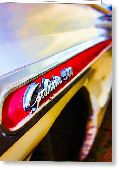 1963 Ford Greeting Cards - G500 Greeting Card by Digital Kulprits