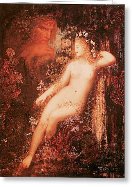 Galatea Greeting Cards - Galatea Greeting Card by Gustave Moreau