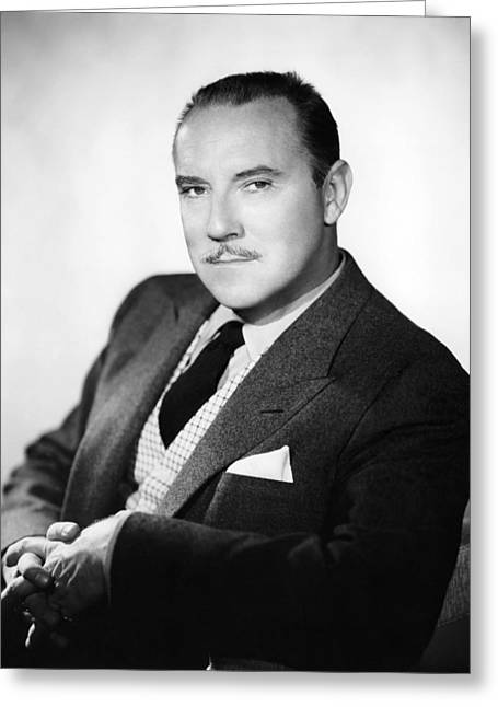 Gale Greeting Cards - Gale Gordon Greeting Card by Silver Screen