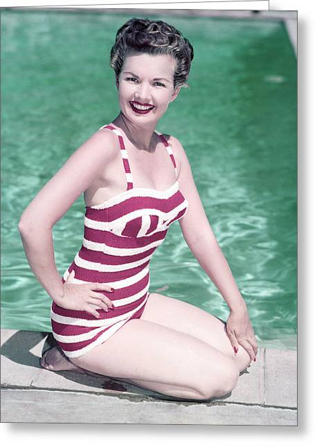 Gale Greeting Cards - Gale Storm Greeting Card by Silver Screen