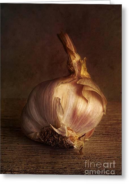 Garlic 2 Greeting Card by Elena Nosyreva