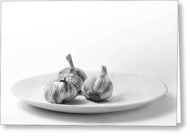Garlic Greeting Cards - Garlic Greeting Card by Ian Barber