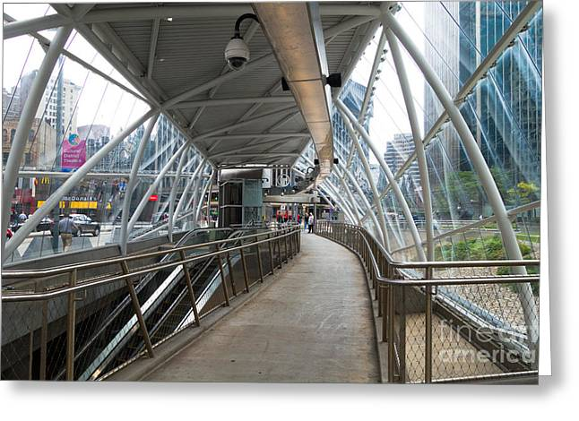 Gateway T Station  Pittsburgh Greeting Card by Amy Cicconi