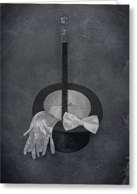 Black Tie Photographs Greeting Cards - Gentleman Greeting Card by Joana Kruse