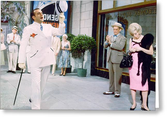 George C. Scott Greeting Cards - George C. Scott Greeting Card by Silver Screen