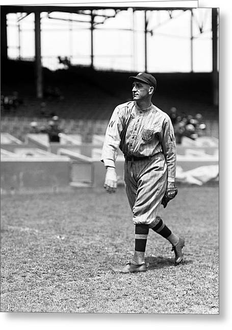 Baseball Stadiums Greeting Cards - George F. McBride Greeting Card by Retro Images Archive