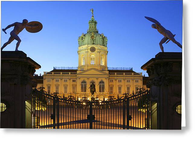 Dome Light Greeting Cards - Germany, Berlin, Palais Charlottenburg Greeting Card by Tips Images