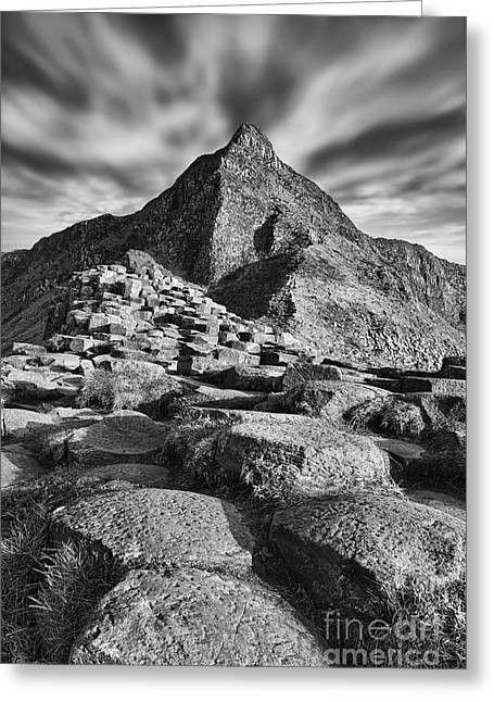 Best Sellers -  - Stepping Stones Greeting Cards - Giants Causeway Greeting Card by Rod McLean