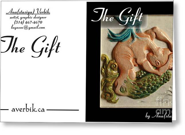 Mermaids Sculptures Greeting Cards - Gift Greeting Card by Anastasiya Verbik
