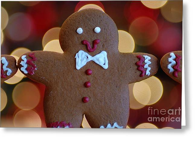 Arms Out Greeting Cards - Ginger-Bokeh Greeting Card by Amy Cicconi