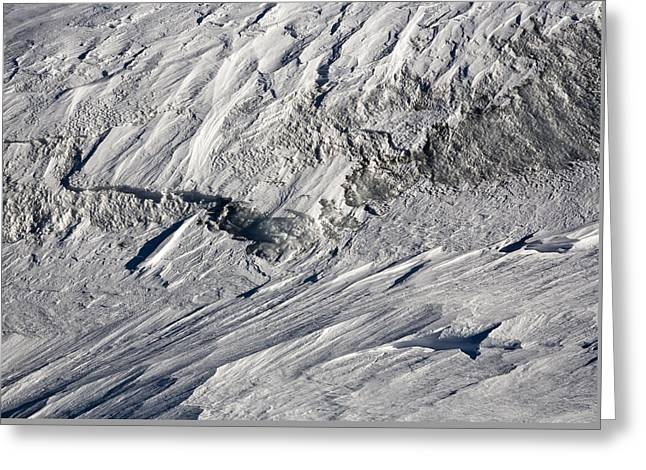 Glacier Greeting Cards - Glacier Greeting Card by Frank Tschakert
