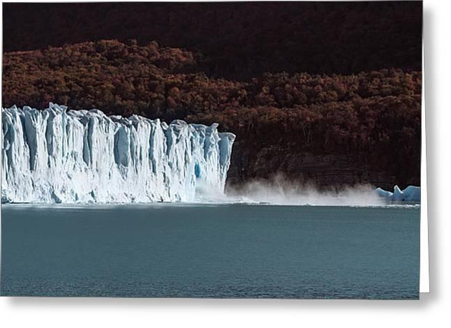 Santa Cruz Greeting Cards - Glaciers In A Lake, Moreno Glacier Greeting Card by Panoramic Images