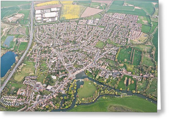 Godmanchester Greeting Card by Tom Gowanlock