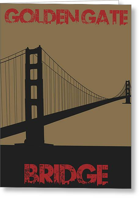 Golden Gate Greeting Cards - Golden Gate Bridge Greeting Card by Joe Hamilton