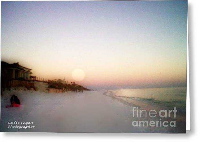 Ocean Photography Greeting Cards - Good Morning Sun Greeting Card by Jeffery Fagan
