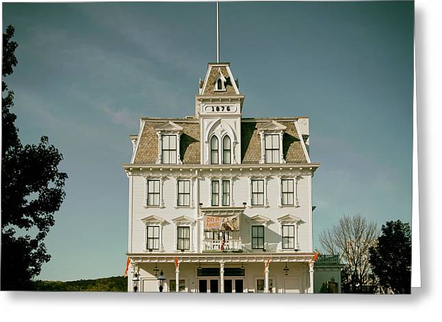 East Haddam Connecticut Greeting Cards - Goodspeed Opera House Greeting Card by Mountain Dreams