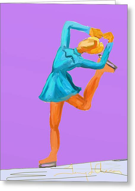 Terry Chacon Greeting Cards - Gracie Greeting Card by Terry  Chacon