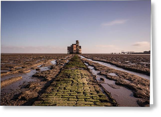 Chatham Greeting Cards - Grain Tower battery. Greeting Card by Ian Hufton