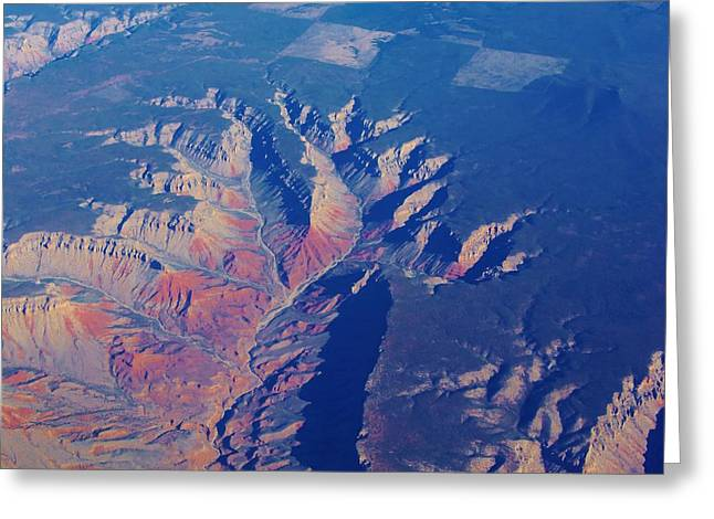 Grand Canyon 4 Greeting Card by Larry Campbell