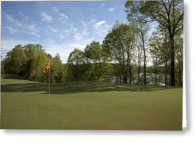Trent Greeting Cards - Grand National Golf Course in Opelika Greeting Card by Mountain Dreams