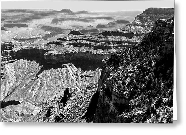 Arizona Landmark Greeting Cards - Grand View Greeting Card by Camille Lopez