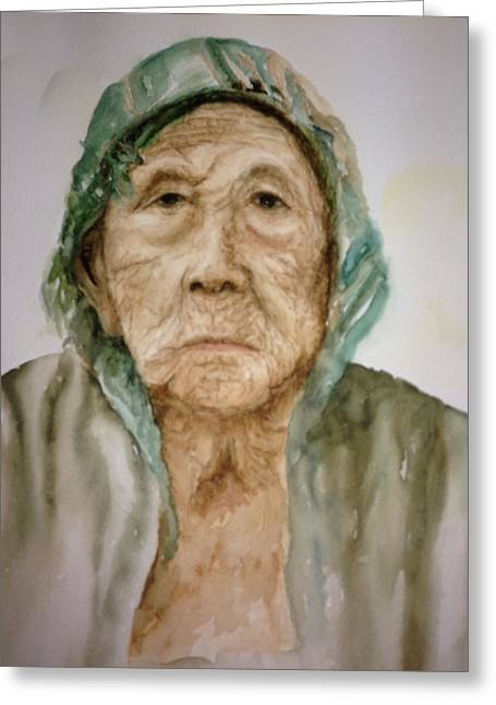 Life Experience. Wise Greeting Cards - Grandma Greeting Card by Sam Swarup