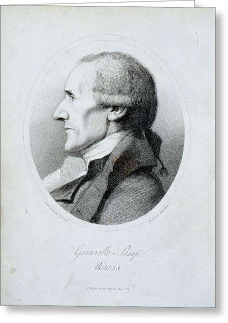 Granville Sharp Greeting Card by British Library
