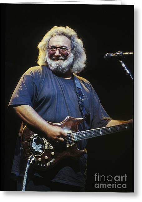 Psychedelia Greeting Cards - Grateful Dead - Uncle Jerry Greeting Card by Front Row  Photographs
