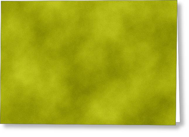 Rawhide Greeting Cards - Green Leather Texture Background Greeting Card by Valentino Visentini