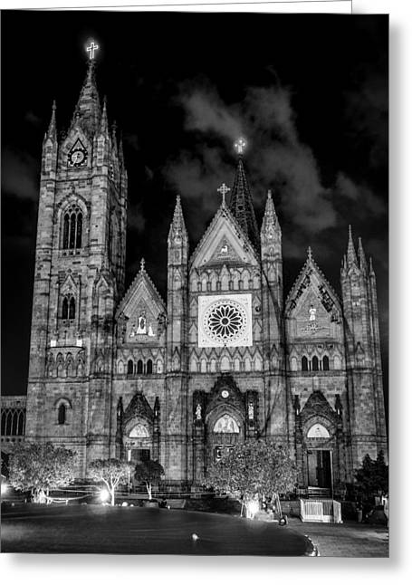 Guadalajara Greeting Cards - Guadalajara Church Greeting Card by Mountain Dreams