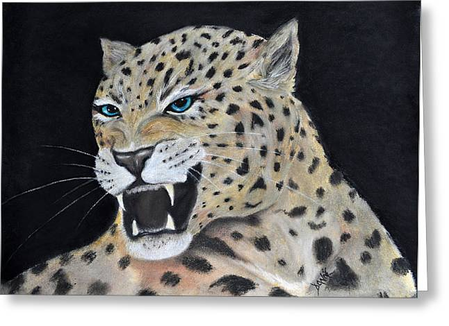 Hunter Pastels Greeting Cards - Guardian Greeting Card by Danae McKillop