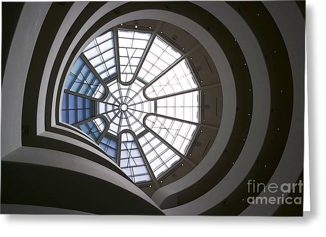 Guggenheim Greeting Cards - Guggenheim Greeting Card by David Bearden