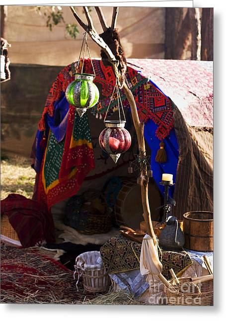 Drifter Photographs Greeting Cards - Gypsy Tent Greeting Card by Ryan Jorgensen