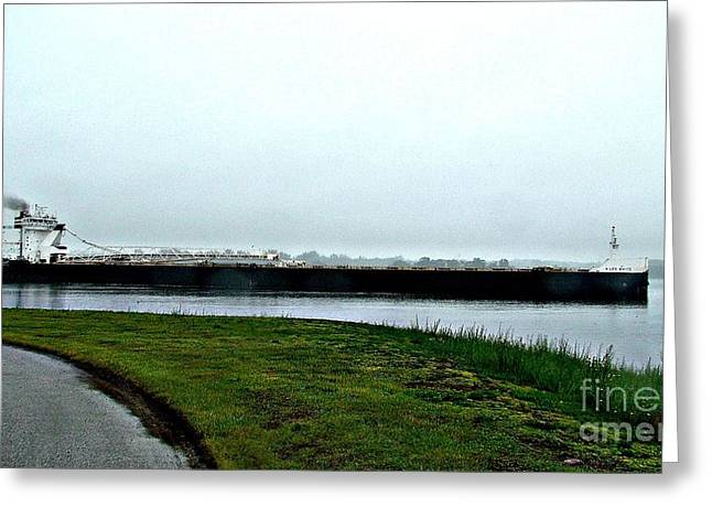 Recently Sold -  - Water Vessels Greeting Cards - H Lee White Greeting Card by Tom Geiger