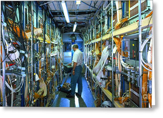 Assurance Greeting Cards - H1 Particle Detector Greeting Card by David Parker