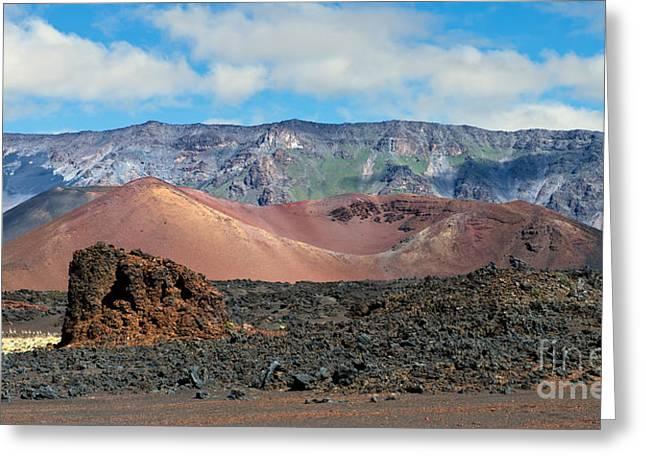 Photogaph Greeting Cards - Haleakala  Dsc 00183-1 Greeting Card by Frank Wicker