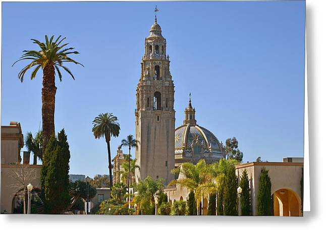 Tile Greeting Cards - Balboa Park - The Soul of San Diego Greeting Card by Christine Till