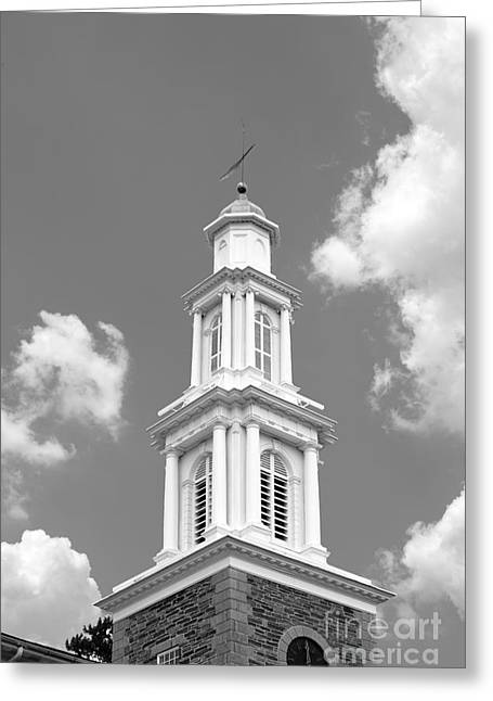 Occasion Greeting Cards - Hamilton College Chapel Greeting Card by University Icons